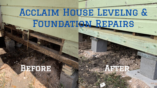 Acclaim House Leveling and Foundation Repairs